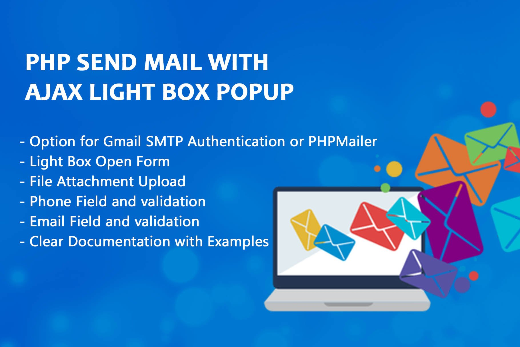 Php Send Mail With Ajax Light Box ~ HTML/CSS Themes ~ Creative Market
