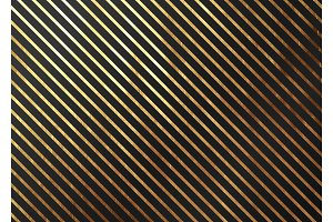 Abstract pattern texture gold stripes. Vector golden and black background