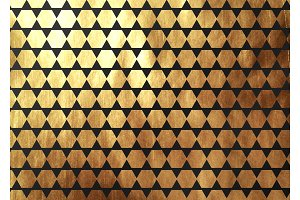 Abstract pattern texture gold geometric. Vector golden and black background