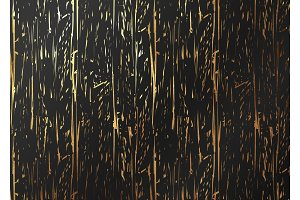 Abstract pattern gold texture. Vector golden and black background