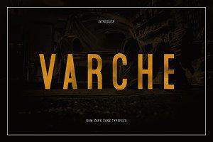 Varche Caps Typeface