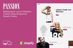 Passion - Fashion Shop Shopify Theme