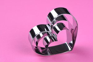 Valentines Heart Shape Cookie Cutter
