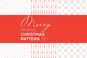 Merry Minimal Christmas Patterns