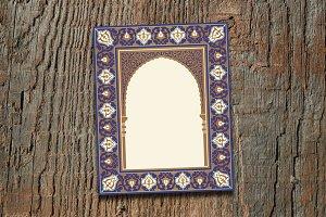 Arabic Floral Arch