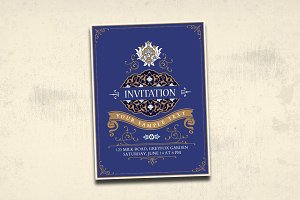 Elegance Invitation Card