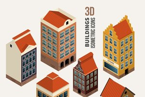 Pretty isometric houses