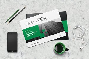 A5 Landscape Company Brochure