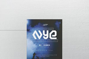 New Year Eve Concert Flyer Template