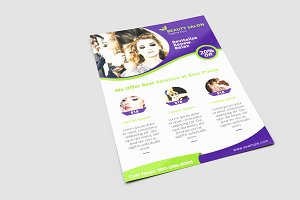 Beauty Salon Flyer V709