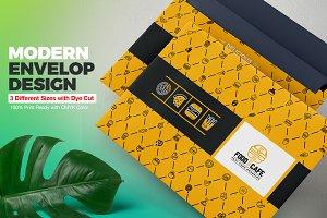 Envelop Packaging Design Template