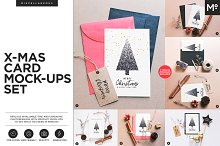 Christmas Card Mock-ups Generator