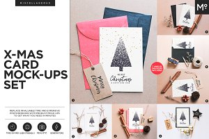 Christmas Card Mock-ups Generator