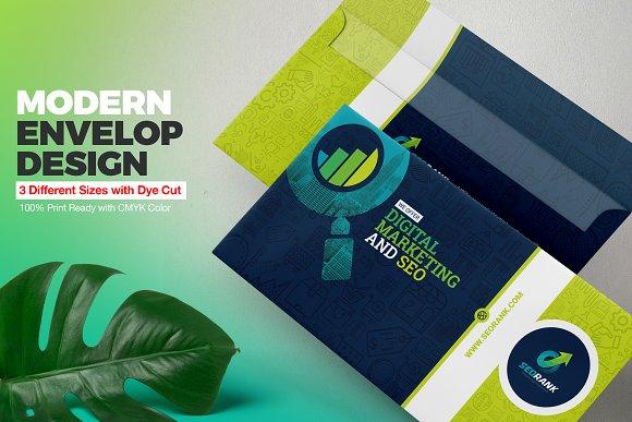 Envelop Design Template