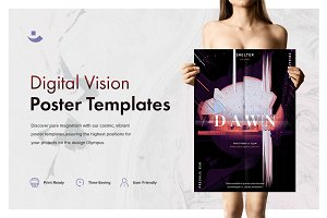 Digital Vision Music Poster Template
