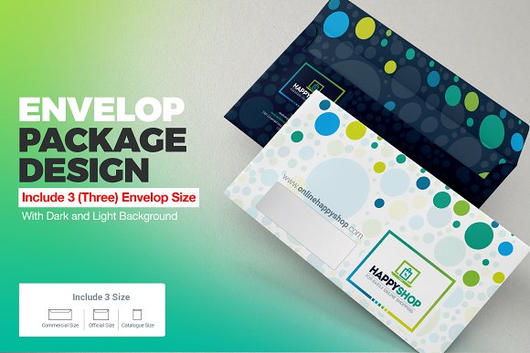 E-Commerce Shop Envelope Package