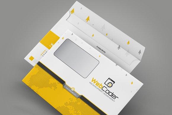 Envelope Packaging Template