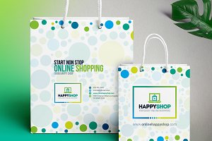 Shopping Bag Design Template