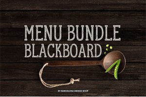 Blackboard Menu Bundle