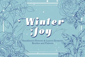 20%OFF - Winter Joy Flowers