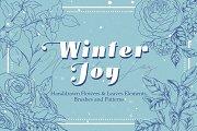 Winter Joy - Flowers & Foliages