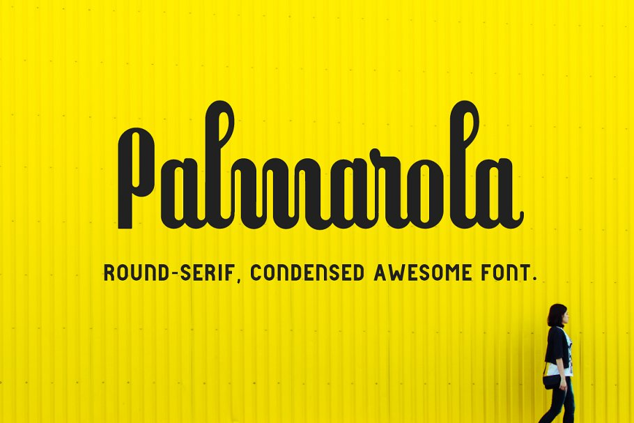Best Palmarola Serif Vector