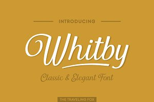 Whitby - A Classically Retro Script