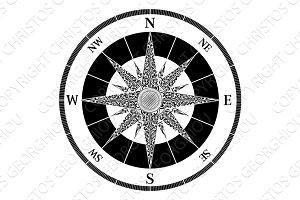 Compass Vintage Design