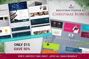 Bootstrap Starter Kit - XMAS Bundle