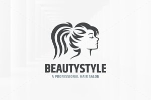 Beauty Style Logo Template