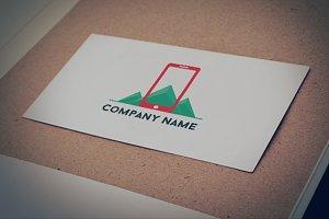 Mobile company logo template