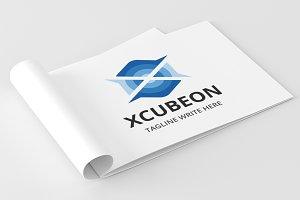 XCubeon -Letter X Logo