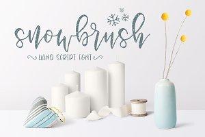 Snowbrush Script Font