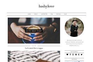 Wordpress Blog Theme - Lushy Love