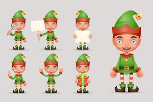 Boy Cute Elf