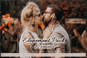 Elopement Preset Pack for Lightroom