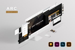 Arc Creative Website Template