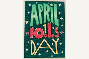 1 April Fools Day poster