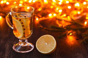 Mulled White Wine with Spice
