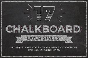 Chalkboard Layer Styles