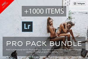 1000+ Bundle Lightroom Presets