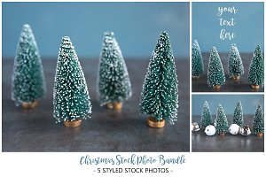 Christmas Stock Photo Bundle: Winter
