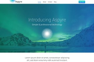 Aspyre - Premium WordPress Theme