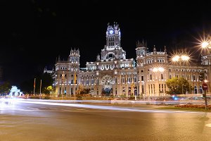 Cibeles Palace, Madrid.