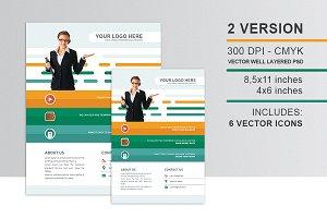Flat Presentation Company Flyer