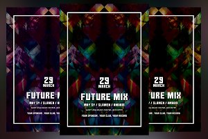 Future Mix Flyer