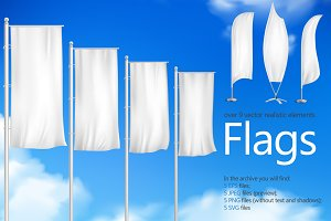 Flag Realistic Set