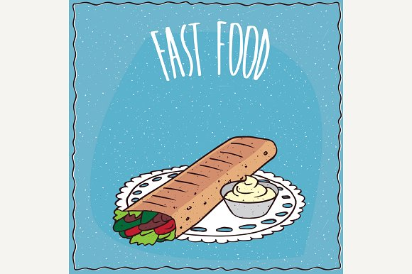 Doner Kebab Or Shawarma
