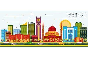 Beirut Lebanon Skyline