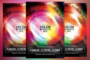 Color Genesys Mix Flyer